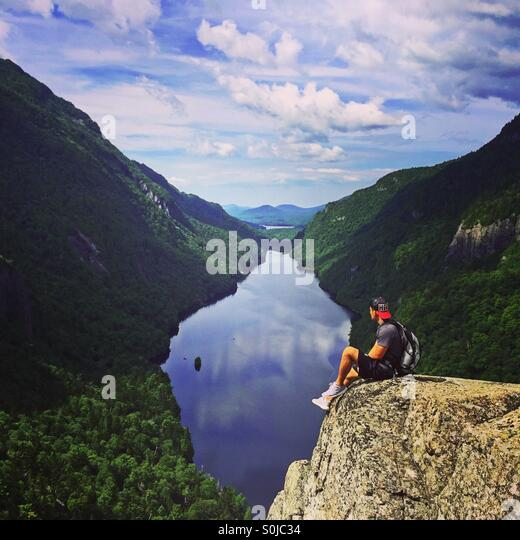 Indian Head, Adirondacks Stockbild