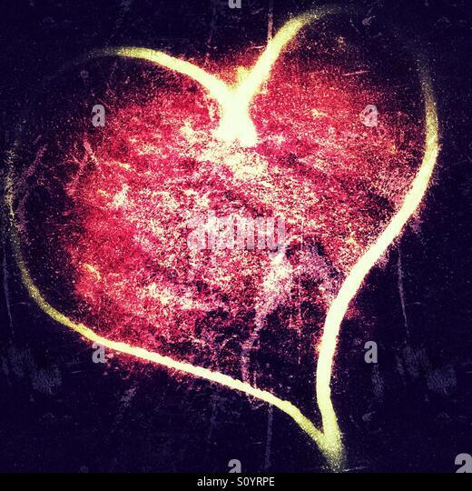 Herzschlag Stockbild