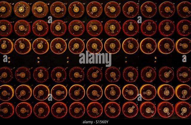 Turings die Bombe Stockbild
