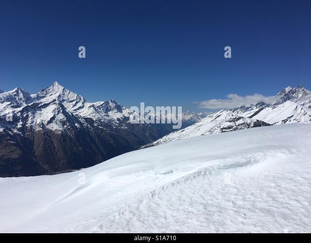 Alpen-Landschaft Stockbild