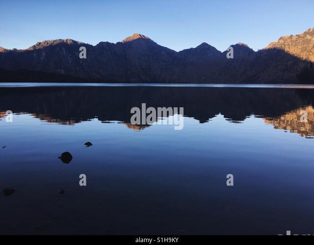 Reflexionen. Stockbild