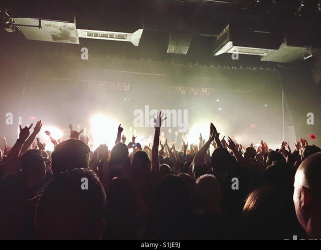 Live-Musik Stockbild