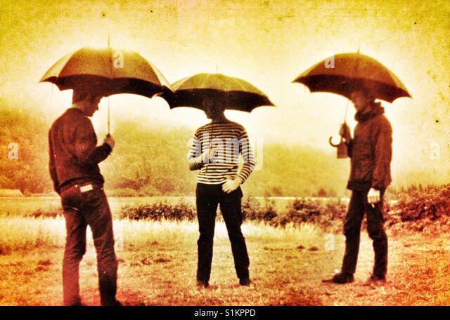 Wann kommt der Regen Stockbild