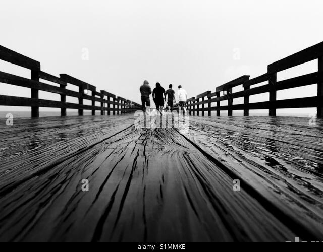 Lost Boys Pier Stockbild