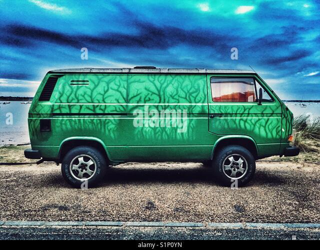 VW transporter Stockbild