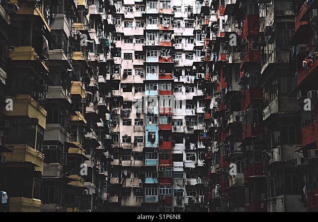 Die ehrfürchtige Gebäude Stockbild