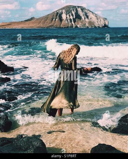 Urlaub in Hawaii. Stockbild