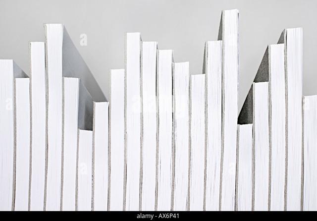 Cuadernos ordenados gustado un gráfico Imagen De Stock