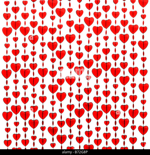 Corazones rojos Imagen De Stock
