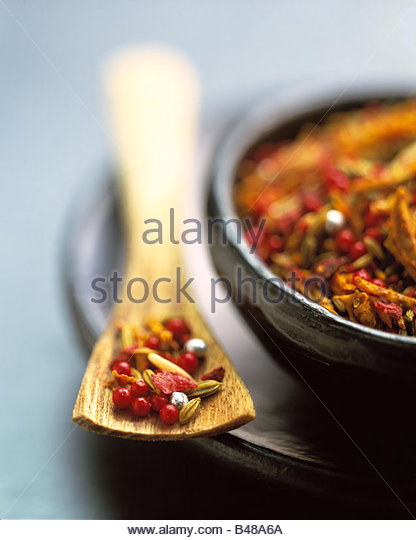 Supari Pan: épices indiennes pour la mastication Photo Stock