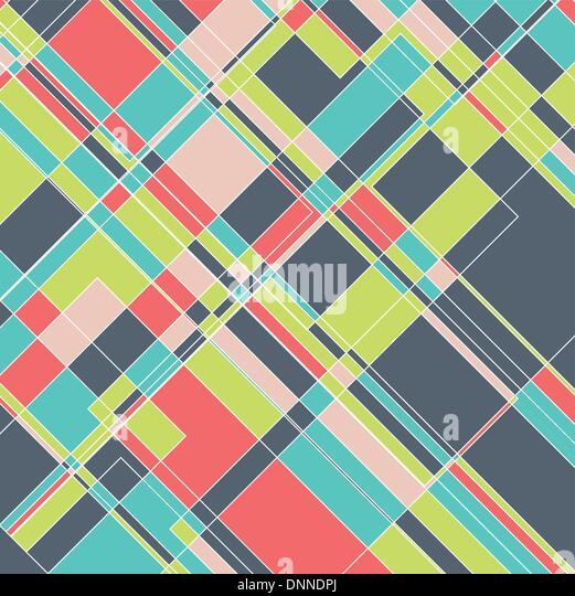 Abstract design arrière-plan avec un motif géométrique Photo Stock