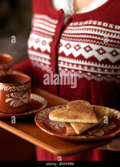 I cookie di cannella, Svezia. Immagini Stock