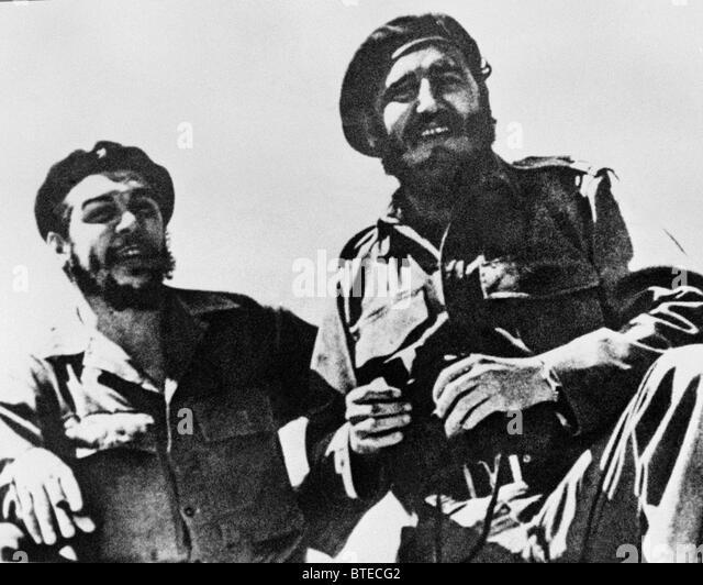 Fidel Castro e Che Guevara Immagini Stock