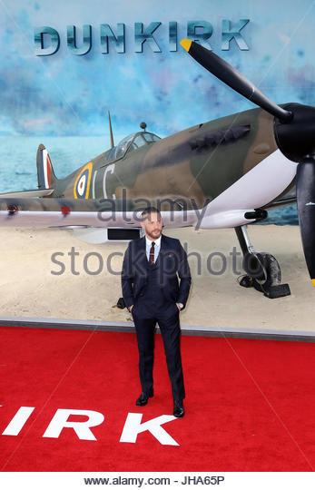 Londra, Regno Unito. 13 Luglio, 2017. Tom Hardy assiste il 'Dunkirk' Premiere mondiale di Odeon Leicester Immagini Stock