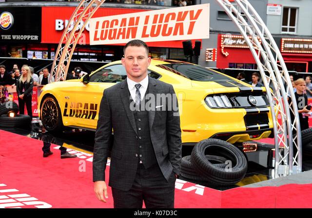 Channing Tatum frequentando il Logan Lucky UK Premiere detenute a Vue West End nel quadrato di Leicester, Londra. Immagini Stock