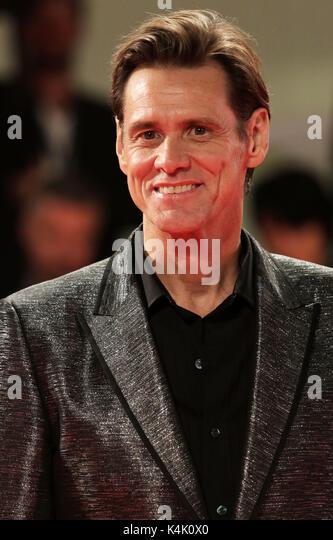 L'Europa, Italia, Lido di Venezia, 05 settembre, 2017 : l'attore Jim Carrey al tappeto rosso del film 'Jim Immagini Stock