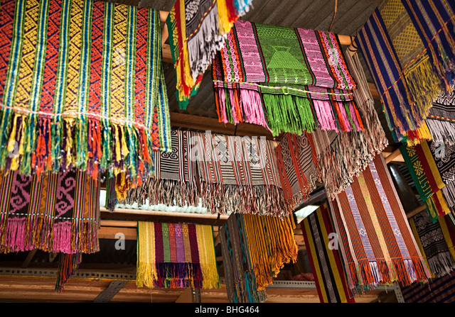Atsi no mercado em Dili, Timor Leste Imagens de Stock