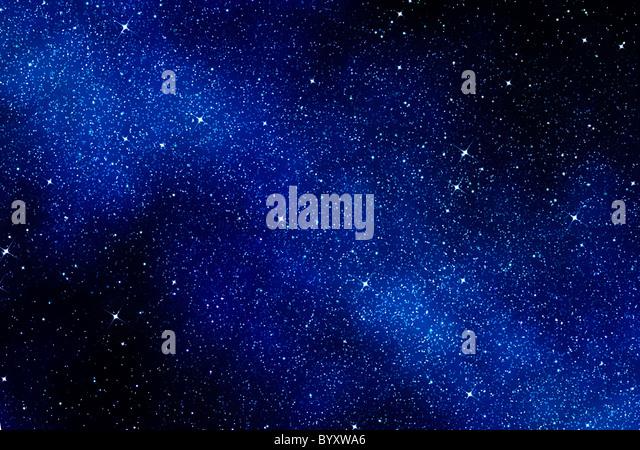 Grande imagem de espaço ou um céu estrelado Imagens de Stock