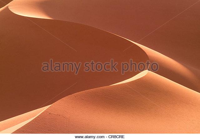 Khongoryn dunas de areia, Parque Nacional Gurvansaikhan Gobi, Mongólia Imagens de Stock