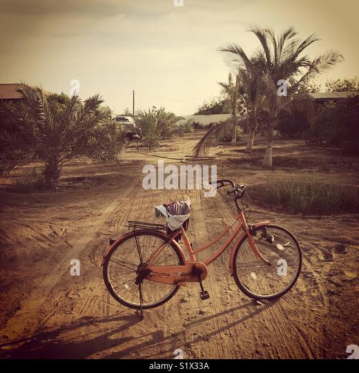 Aluguer de bicicleta ou em um farmhouse Imagens de Stock